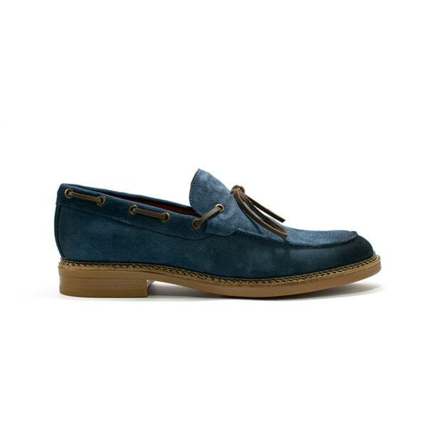 zapato sahara azul